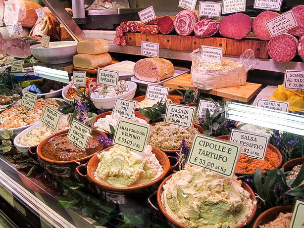 Mercato Centrale Florence: Quick lunch in Florence