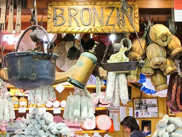 Mercato Centrale Florence: Where to buy picnic supplies in Florence
