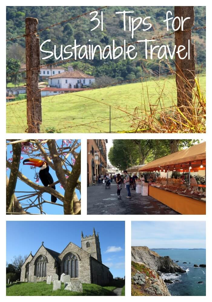 31 Tips for Sustainable Travel