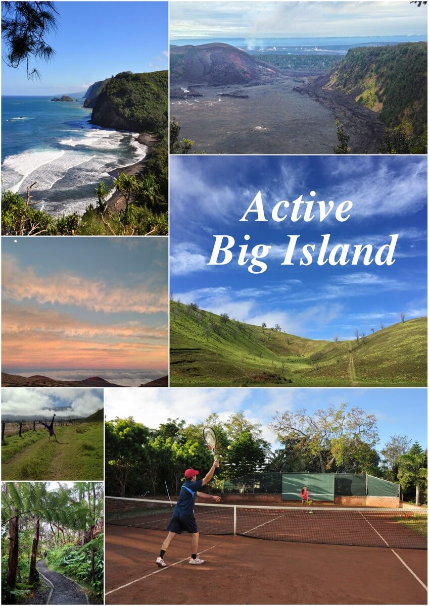 Hawaii Big Island activities for a sporty holiday