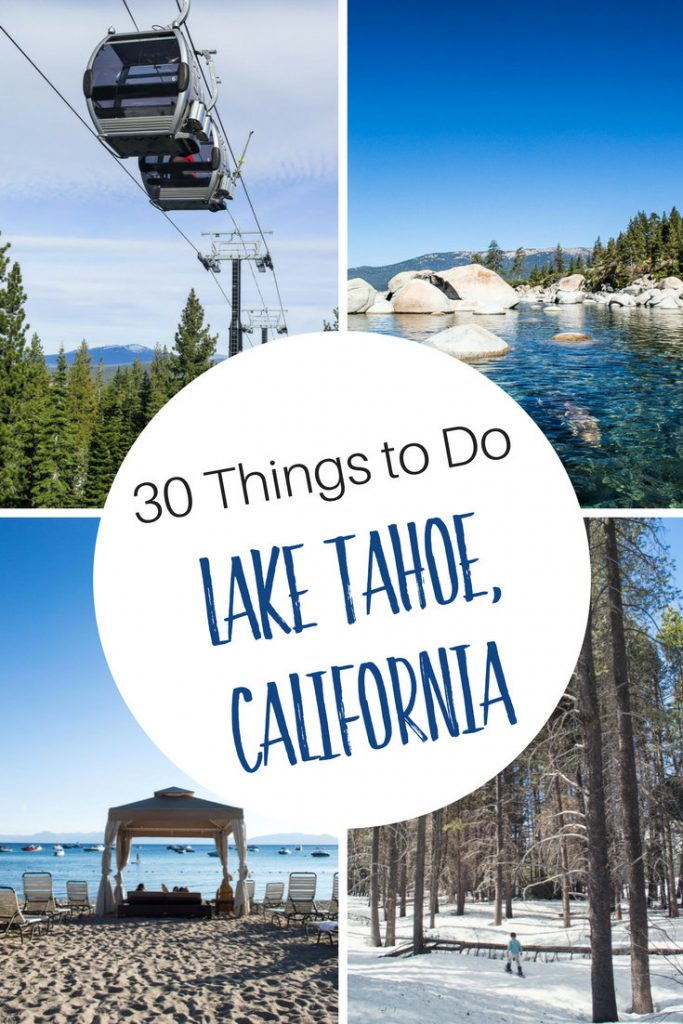 30 Things To Do At Lake Tahoe