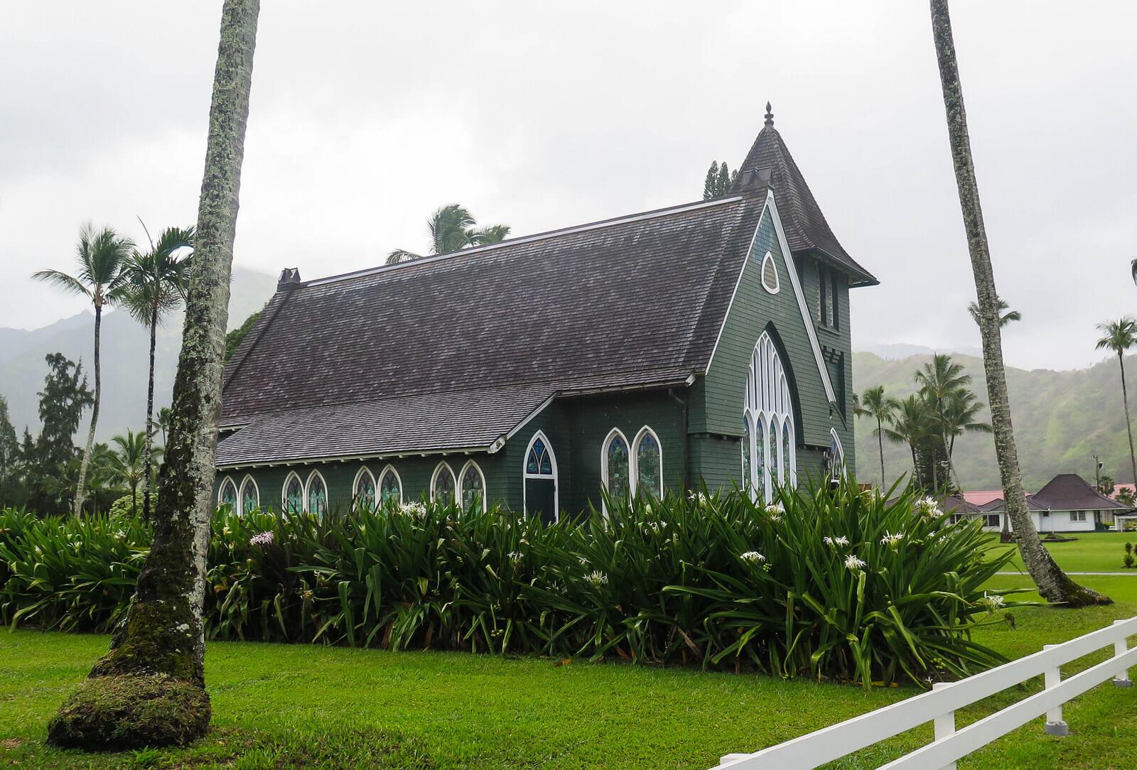 church in Hanalei