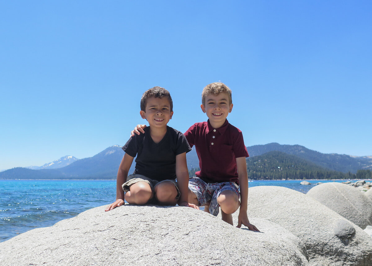 Family vacation in Lake Tahoe