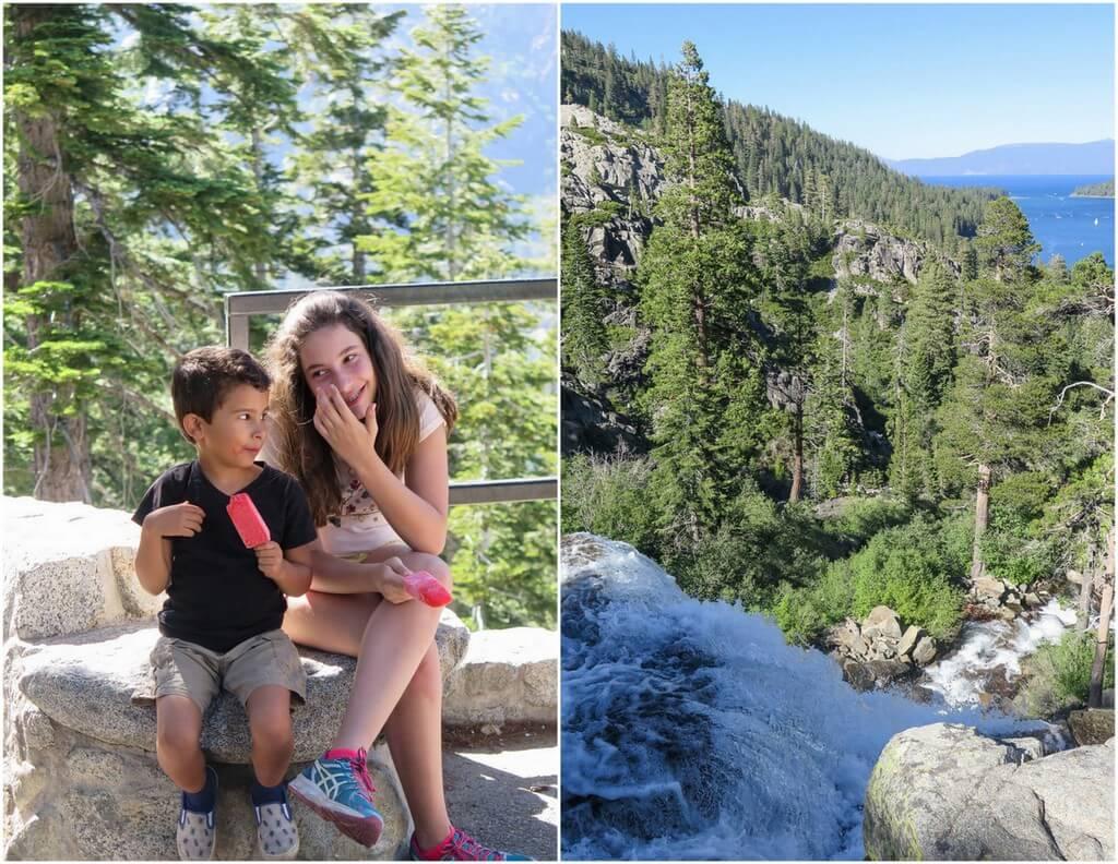 family vacation Lake Tahoe