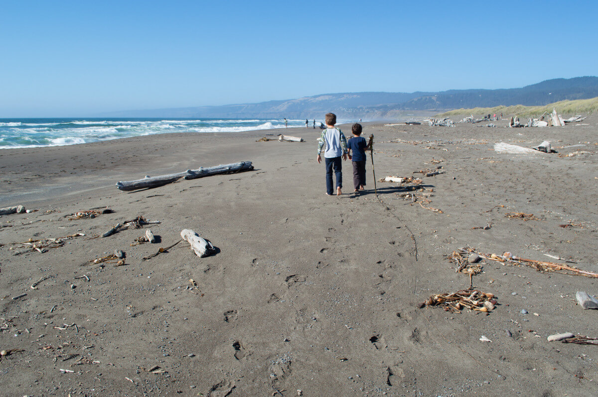 best beaches with kids Mendocino County