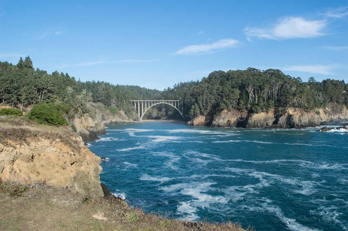 Which state park to visit Mendocino