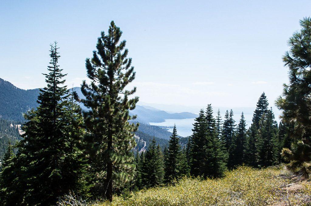 Hiking trail North Lake Tahoe