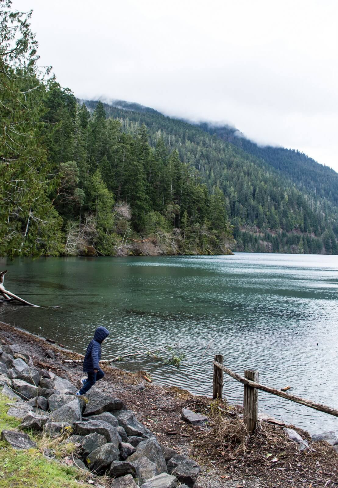 Lake Crescent travel tips Olympic National Park