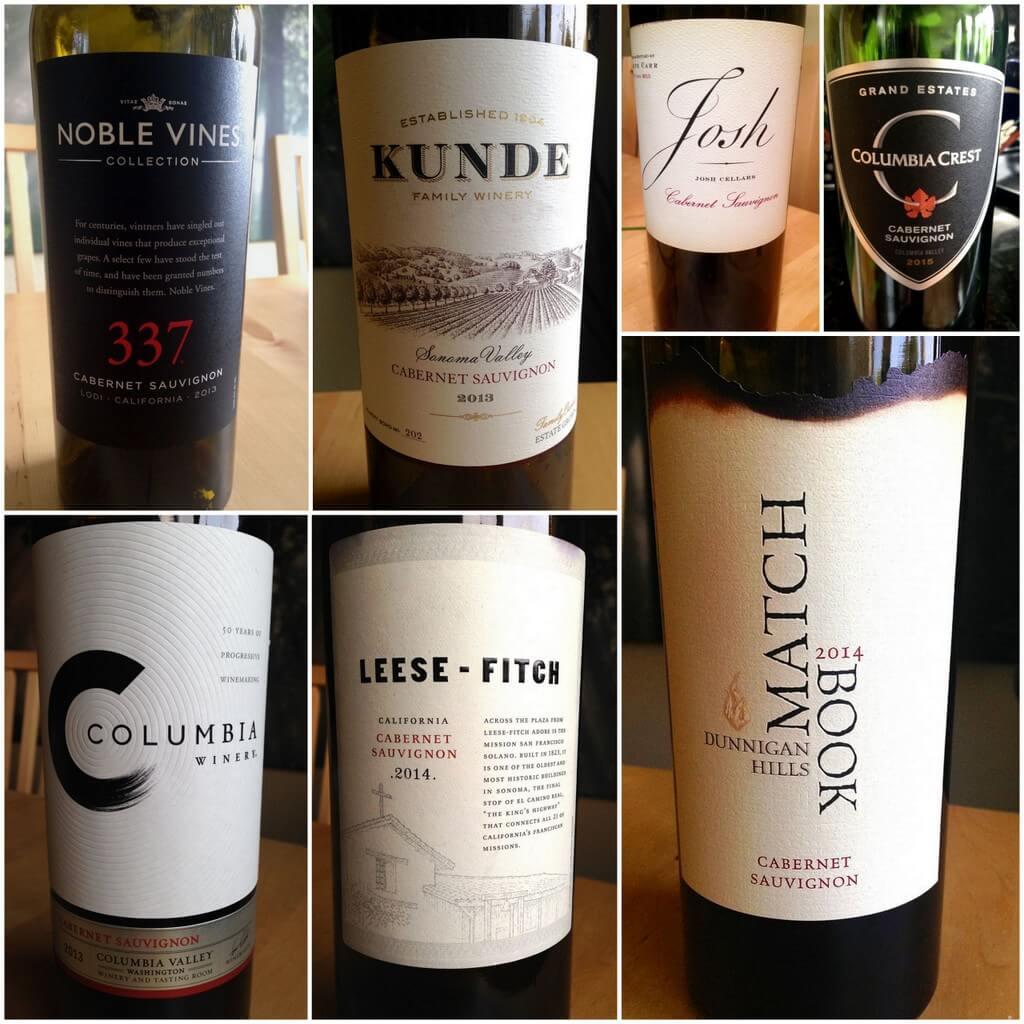Best value Cabernet Sauvignon wines from U.S.