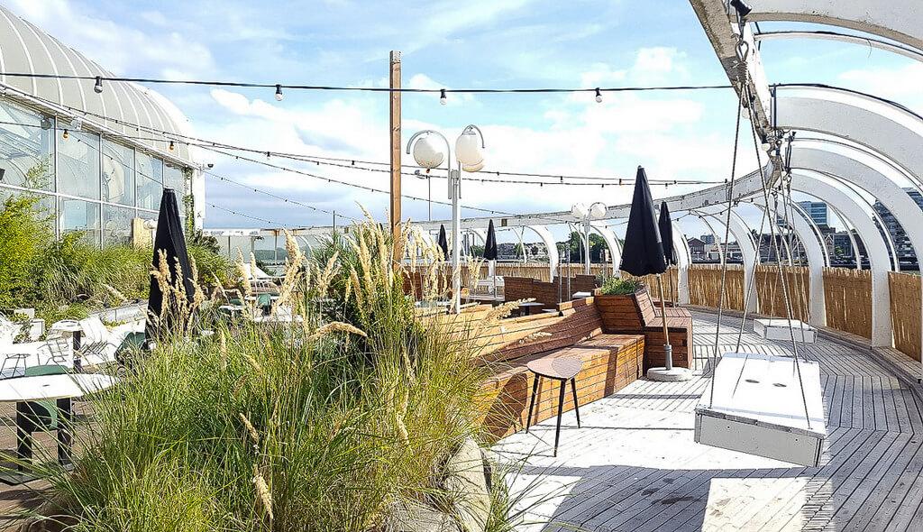 rooftop bars restaurants Rotterdam